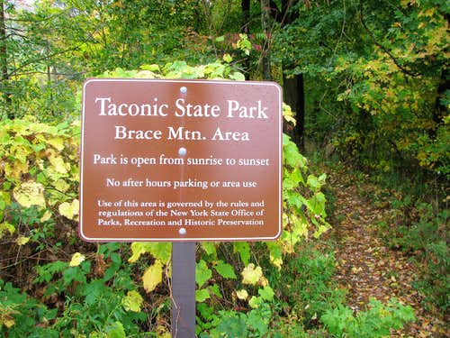 South Taconic Trailhead