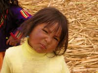 Uros little girl.