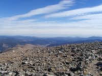 Looking east from the summit of James Peak