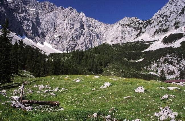 Winkelkar, ascent to...