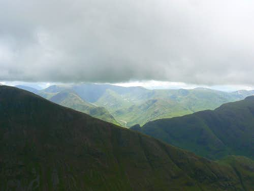 The Black Mount from Stob Dubh