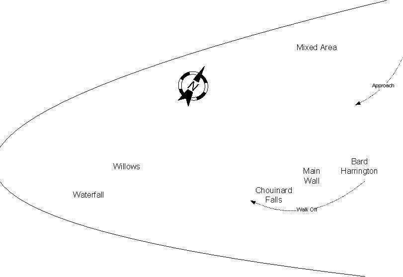 Lee Vining Map