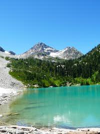 Lewis Lake and Black Peak