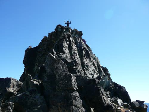 Summit Block, Black Peak