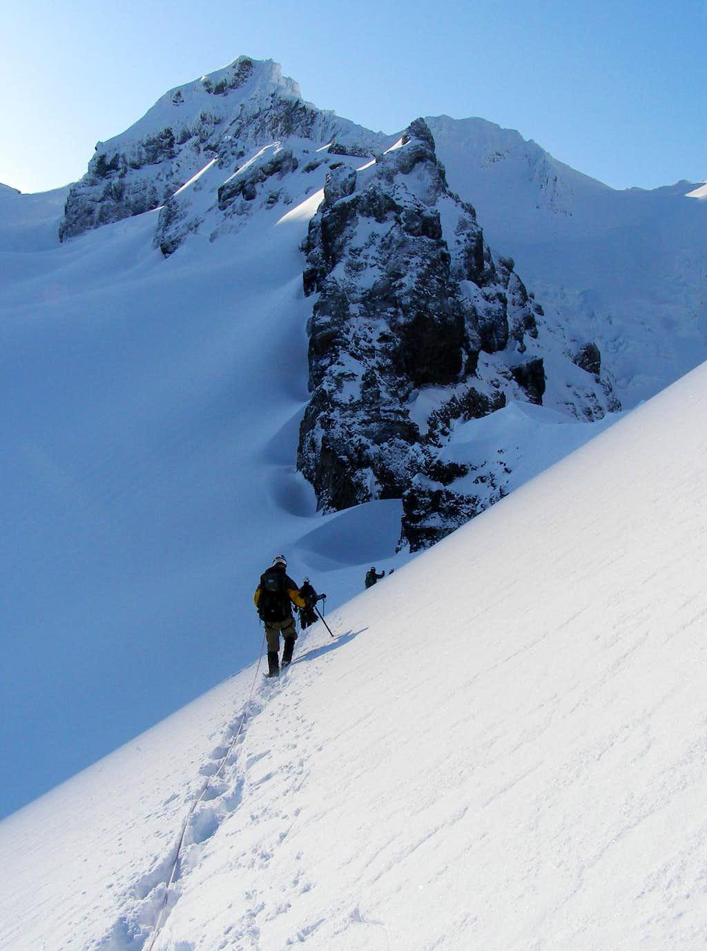Approaching Colfax Peak