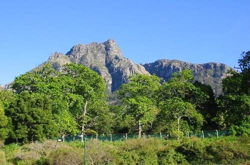 Devil's Peak in the spring,...