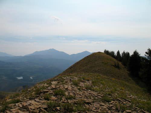 Loafer Mtn summit