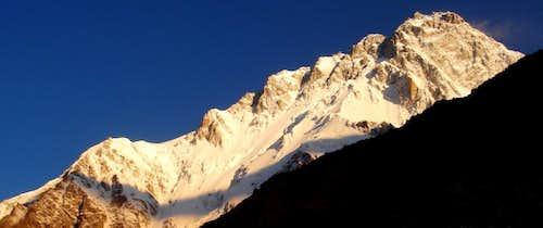 Sunrise Touches The Summit