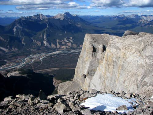 north face of roche miette