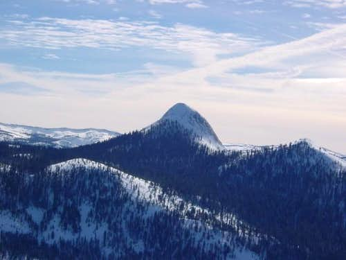 Winter view of Mt. Starr King...