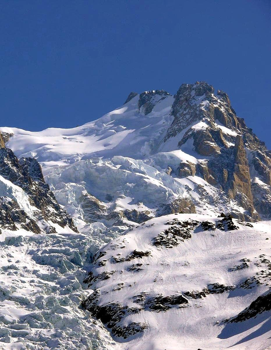 North side of Mont Maudit