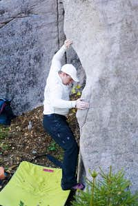 Bouldering in Ystehede