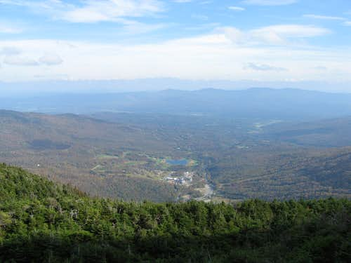 Mt. Mansfield In The Fall
