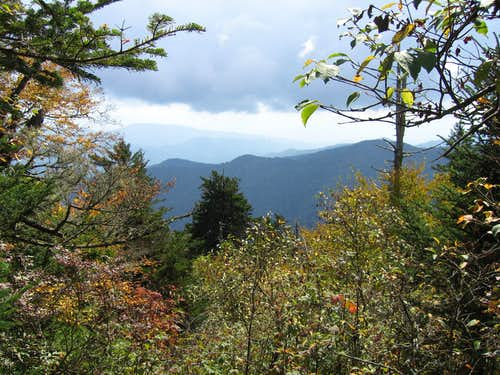 Clingman\'s Dome View