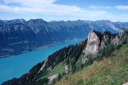 Brienzersee from near Schynige Platte