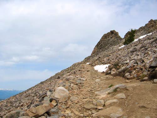 Nearing the summit