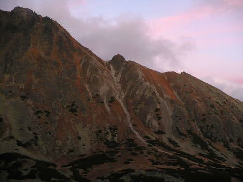 Solisko ridge last time this year without snow