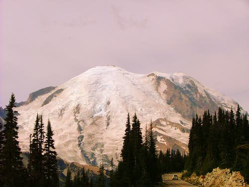 Rainier from Sunrise Ridge.