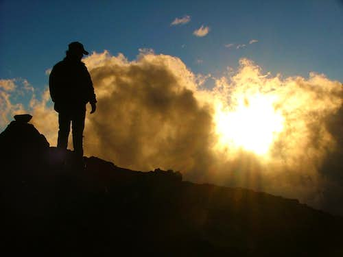 My Silhouette. Cotopaxi.