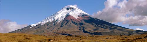Cotopaxi, Panoramic view.