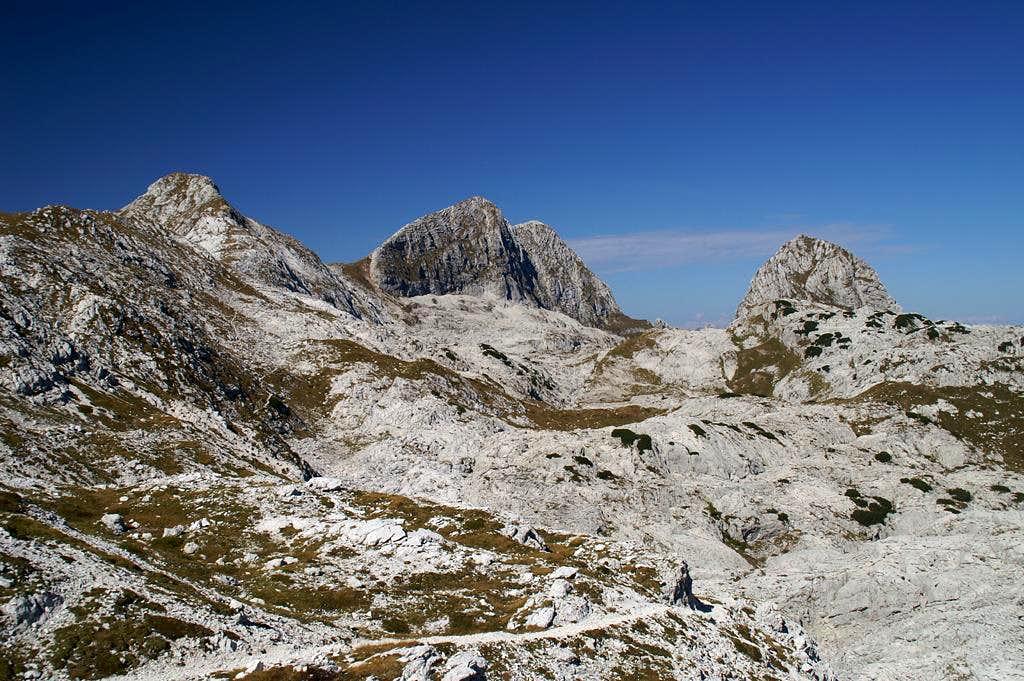Picco di Grubia (2240m), Monte Sart (2324m), Col Sclaf (2157m)