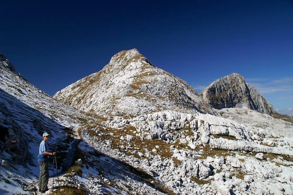 Picco di Grubia (2240m), Monte Sart (2324m)