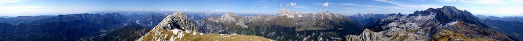 360° Summit Panorama Monte Sart
