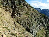 Looking back at the Pinchot traverse