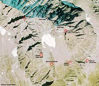 Stockhorn Overview Map