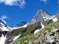 Northwest side of Paleo Peak
