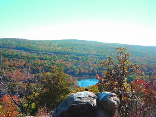 Fall Foliage from Allamuchy Lookout