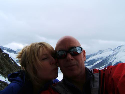 Self Portrait Jungfraujoch