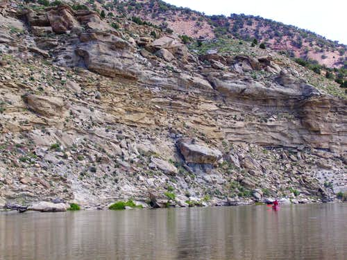 Access via Yampa River