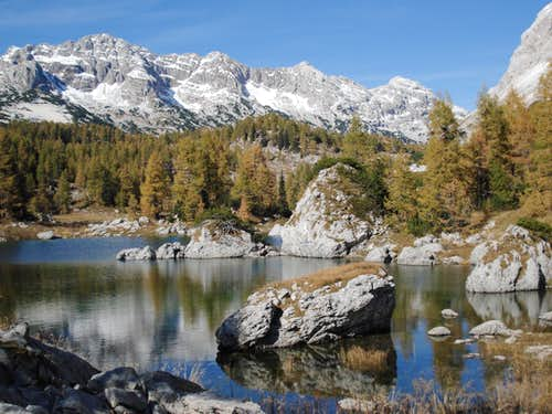 7 Triglav Lakes Valley route