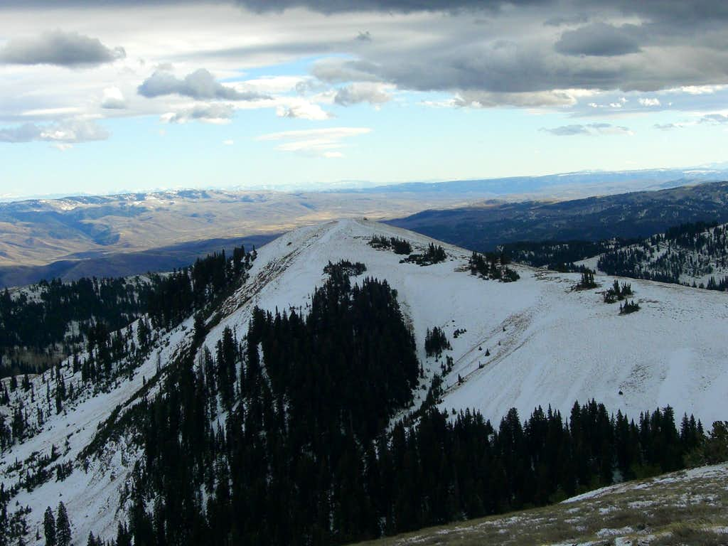 Providence Peak from Logan Peak