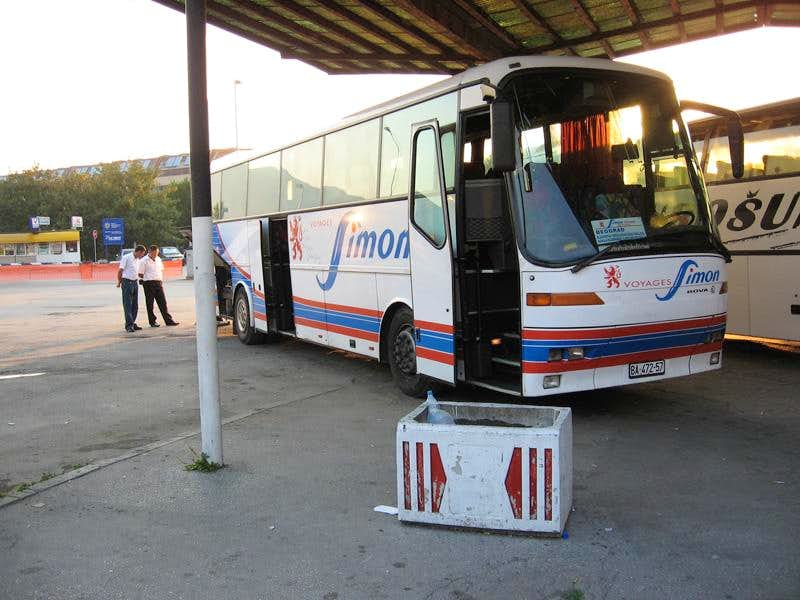 Bus station, Berane