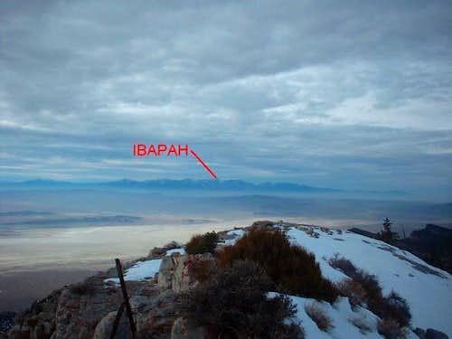 Deep Creek Mountain Range as...