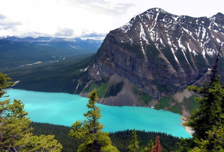 Mt. Fairview and Lake Louise