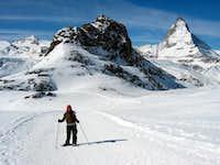 Riffelhorn & Matterhorn