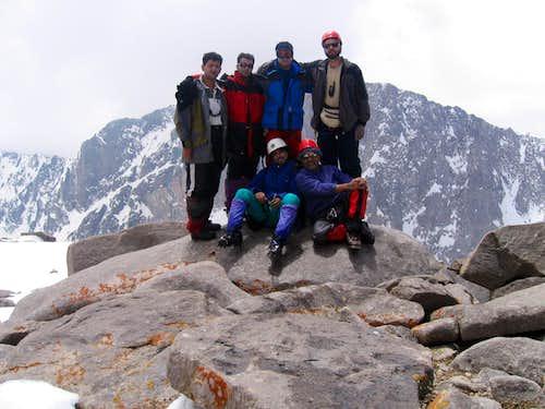 Takht-e-Soleyman summit