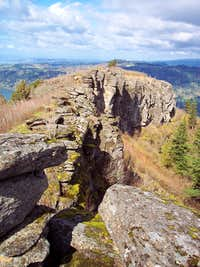 Angels Rest Summit Ridge