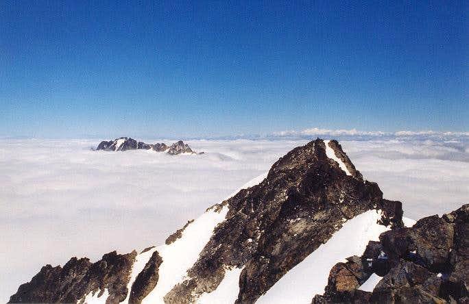 The view ENE from the summit...
