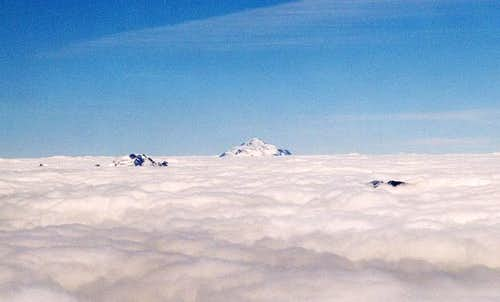 Dome Peak and Glacier Peak...