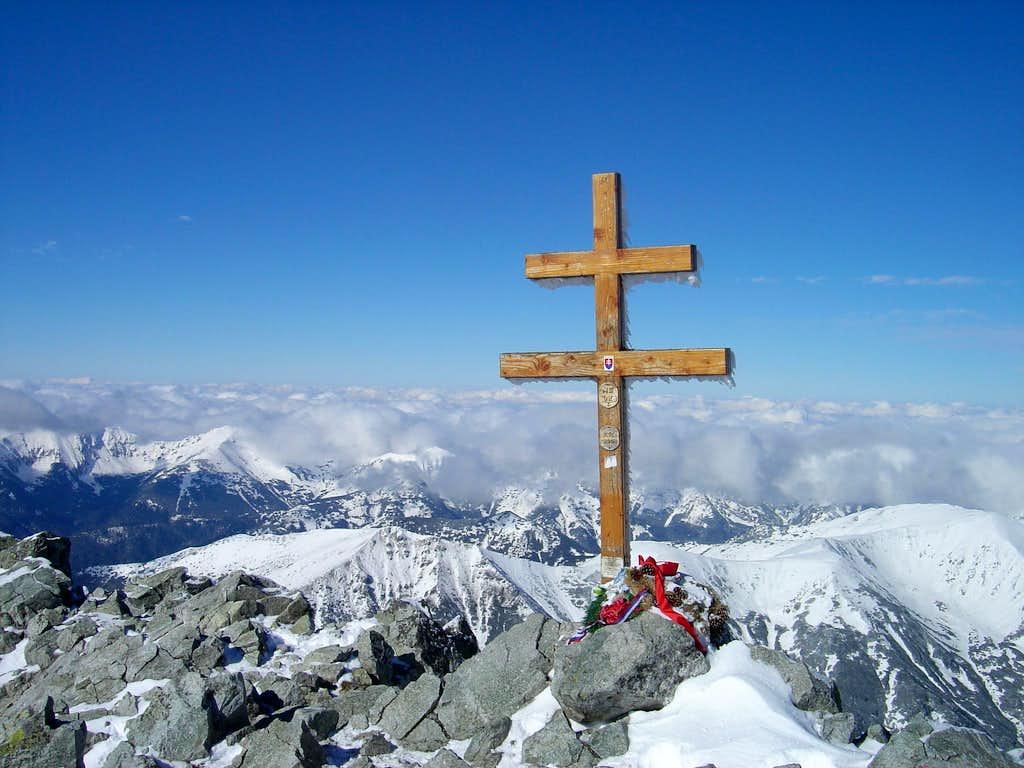 On the top of Kriváň