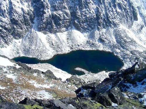 Green Lake of Kriváň