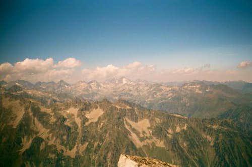 A view of the Glacier of Las...