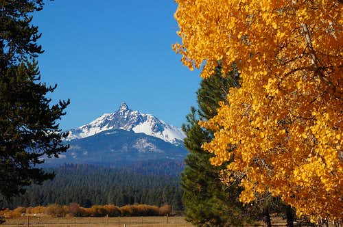 Mt. Washington from Black Butte Ranch