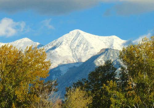 Provo Peak from I-15