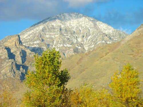 Maple Mountain from I-15