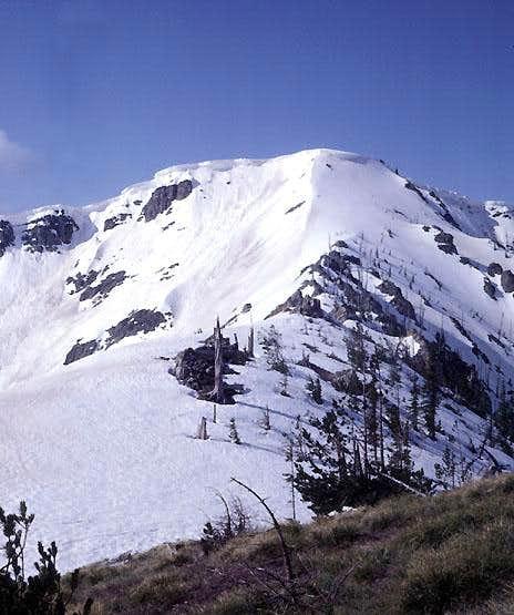 Stevens Peak, North Ridge